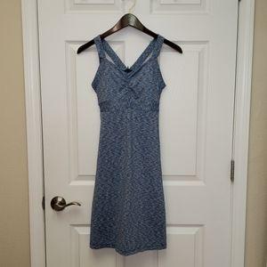 Prana   Amaya Heathered Blue Dress   Size XS